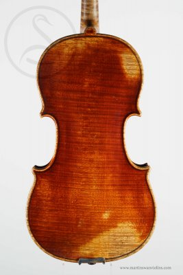 Jean-François Aldric Violin, Paris 1835