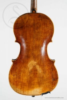 Small Viola probably by Francesco Maurizi , Appignano circa 1840