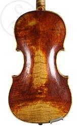 Michael Albani Violin back photo
