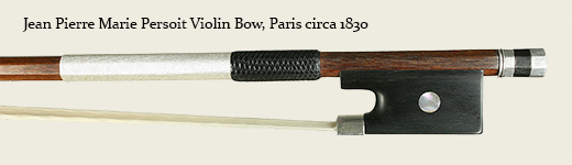 Jean Pierre Marie Persoit Violin Bow