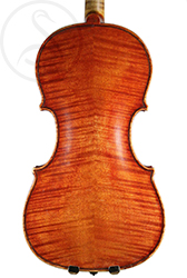 Paul Bailly Violin back photo