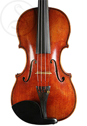 Paul Bailly Violin front photo