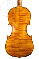 Charles JB Collin-Mézin Violin back photo