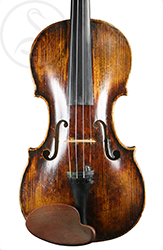 Caspar Strnad Violin front photo