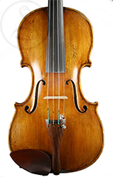 Riccardo Genovese Violin front photo