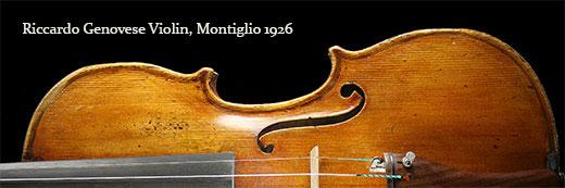 Riccardo Genovese Violin