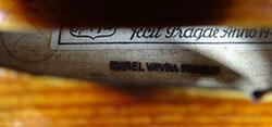 Karel Vávra Violin brand
