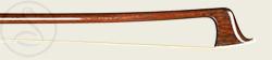 A Good German Violin Bow branded J. Knopf head photo