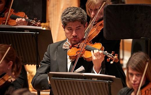 Tam Mott, Violin at Welsh National Opera