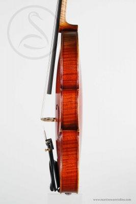 Hippolyte Chrétien Silvestre Violin, Lyon 1876