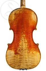 Pierre Silvestre Violin back photo