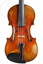 Pierre Silvestre Violin front photo