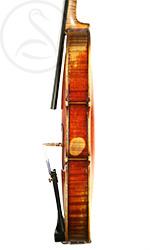 Pierre Silvestre Violin side photo