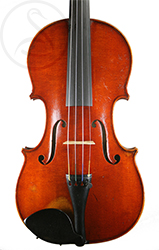 Hippolyte Chrétien Silvestre Violin front photo