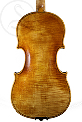 A Good Mittenwald Violin back photo