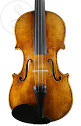 A Good Mittenwald Violin front photo