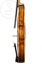 A Good Mittenwald Violin side photo