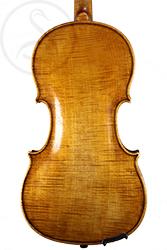 Nicolaus Georg Skomal Violin back photo
