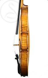 Nicolaus Georg Skomal Violin side photo