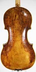 Joannes Havelka Violin back photo