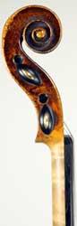 Joannes Havelka Violin scroll photo