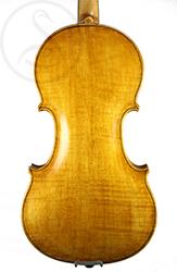 Friedrich Lohmann Violin back photo