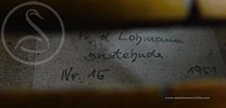 Friedrich Lohmann Violin label