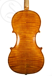 Karel Pilar Violin back photo