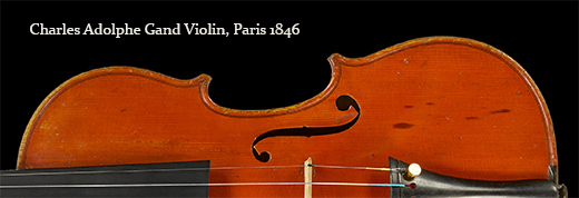 Charles Adolphe Gand Violin