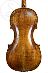Johann Scheverle Viola back photo