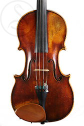 Georges Chanot Violin front photo