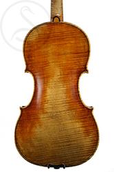 Jacob Fendt Violin back photo