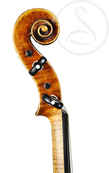 Jacob Fendt Violin scroll photo