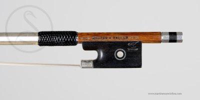 Günter Paulus Violin Bow, Markneukirchen circa 1980