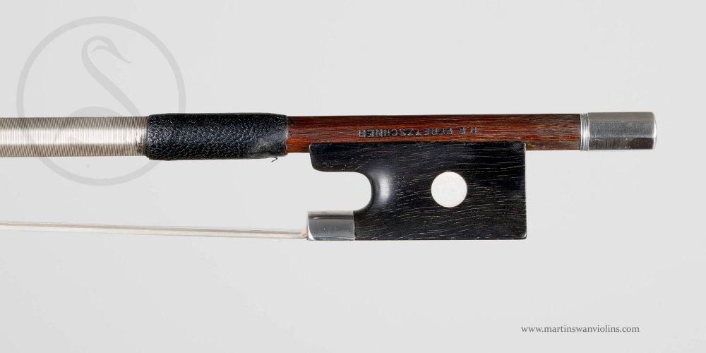 HR Pfretzschner Violin Bow, Markneukirchen circa 1885