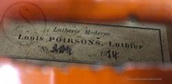 Mirecourt 7/8 Violin label photo