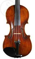 Ludovico Rastelli Violin front photo