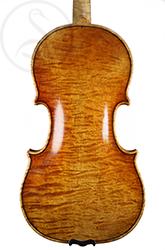 George Wulme Hudson Violin back photo
