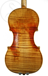 Georges Chanot Violin back photo