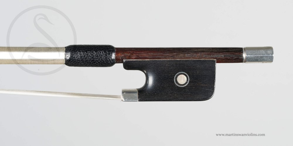 Eugène Sartory Cello Bow, Paris circa 1910 (mounts not original)
