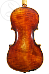 Mittenwald Violin back photo