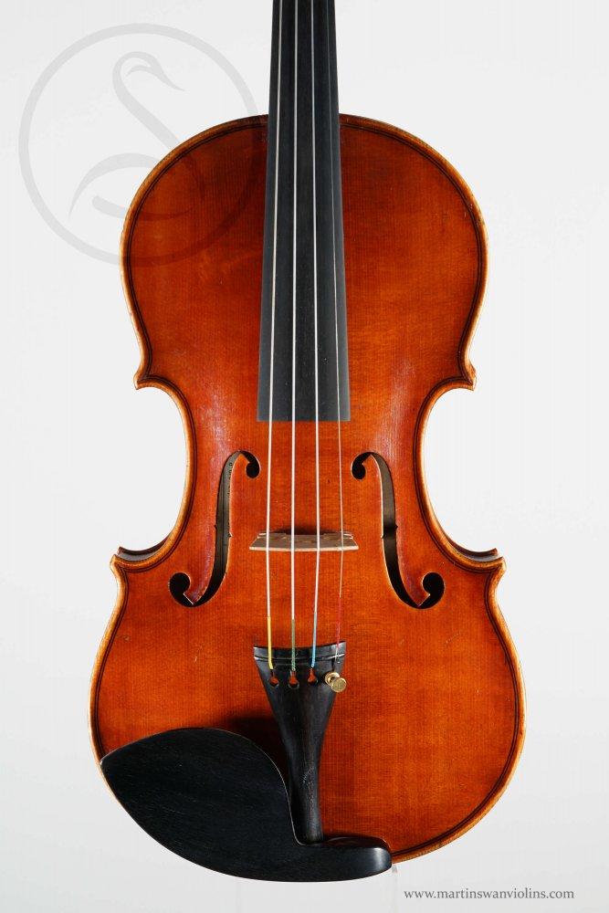 G B Gaibisso Violin, Alassio 1949