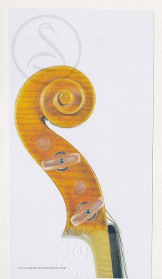 Paolo De Barbieri Violin, Genoa 1946