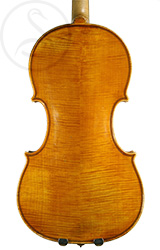 Paolo De Barbieri Violin back photo