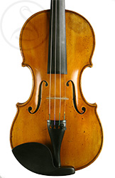 Paolo De Barbieri Violin front photo