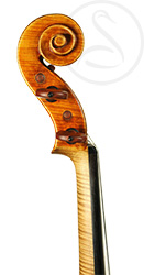 Paolo De Barbieri Violin scroll photo