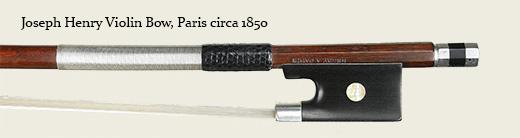 Joseph Henry Violin Bow