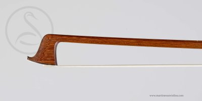 WE Hill & Son Violin Bow, William Johnston circa 1900