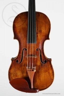 Tomáš Hulinzky Violin, Prague 1776