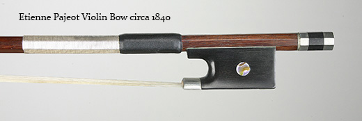 Etienne Pajeot Violin Bow